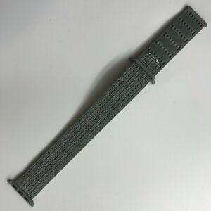 Original Apple Watch Series 7 6 5 NIKE Sport loop Band 42mm 44mm 45MM Spruce Fog