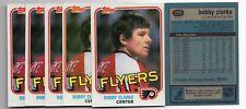 1X BOBBY CLARKE 1981 82 Topps #103 NM-NMMT Lots Available PHILADELPHIA FLYERS