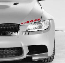 da BOSS Vinyl Decal Sticker Sport Performance Motorsport Racing Car Truck logo