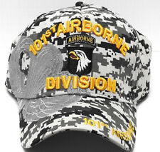 101ST AIRBORNE DIVISION Cap/Hat DIGITAL URBAN CAMO 100% Cotton *Free Shipping*