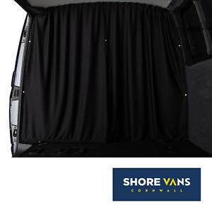 VW Transporter T5 T5.1 T6 CAB DIVIDER Blackout Curtain BLACK