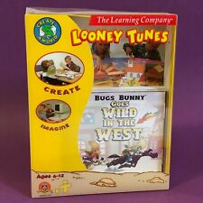 RETRO PC SOFTWARE Bugs Bunny Wild West LOONEY TUNES The Learning Company