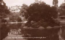 Lake David Solomon's House Southborough Nr Tunbridge Wells RP old pc Sweetman