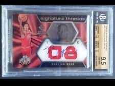 Derrick Rose 08-09 UD SP Rookie Signature Threads Auto /399 BGS 9.5