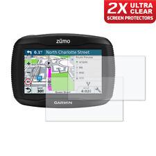 GARMIN ZUMO 390LM  Dashboard Screen Protector 2 x Ultra Clear