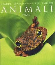 Grande Enciclopedia Para Niños Vol. 1 Pescado,Botas militares y Reptiles