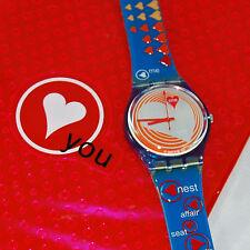 swatch special heartbeat gn187pack orologio donna da collezione raro nuovo