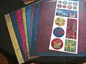 Creative Memories ORIGINAL Album Kit:  Starry Night Partial