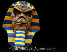 New Officially Licensed Iron Maiden Eddie Powerslave Cover Metal Halloween Mask