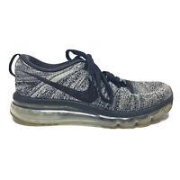 Nike Men's Flyknit Sz 8 Black 620659-105 Air Max Sneaker Running Shoe