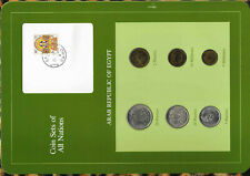 Coin Sets of All Nations Egypt 1972-1980 UNC 5 Piastres 1979