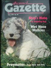 Kennel Club Vintage Kennel Gazette Pedigree Show Dog Magazine Italian Greyhound