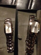 BRAND NEW HIS & HERS GOLD WATCH GIFT SET