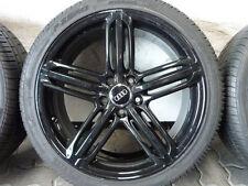 ALUFELGEN ORIGINAL AUDI A4 B8 8K S4 A6 4F SEGMENT BLACK SOMMERREIFEN 255/35 R19