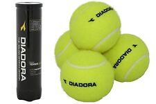 DIADORA® QUALITY TENNIS BALLS PRESSURISED SEALED STORAGE TUBE PACK OF 4
