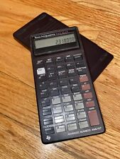 Vintage Texas Instruments Ba Ii Plus Professional Financial Calculator ~ Working