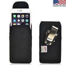 Turtleback iPhone 6 Plus Black Nylon Pouch Holster Metal Clip Fits Speck Case