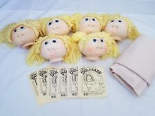 The Original Doll Baby, Six Heads, Material And Birth Certificates