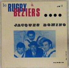 Rugby à Béziers 45 tours Jacques Domino