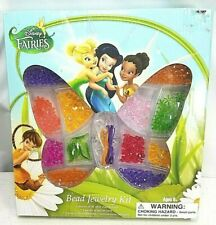 Disney Fairy Fairies Tinkerbell Bead Jewelry Kit New Sealed Ages 6+