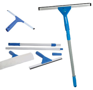 1.3M Window Cleaning Washing Kit Equipment with Pole & Squeegees Large Cleaner