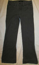 JOE'S WIDE LEG MUSE in PEWTER gray stretchy mid rise  jeans 28