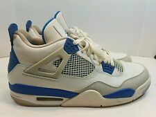 "NIKE AIR JORDAN 4 RETRO IV ""MILITARY BLUE"" DS 2012 RELEASE 308497-105 Size13"