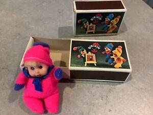 1980's Vintage Baby William Matchbox Doll - Pink Birkin - very good condition