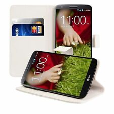 CUSTODIA LUXURY A LIBRO PORTAFOGLI FLIP COVER PER LG Optimus G2 D801 D802 D803