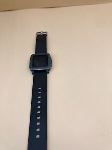 Pebble 511 Time Rubber Smartwatch for Apple / Android Devices - Black