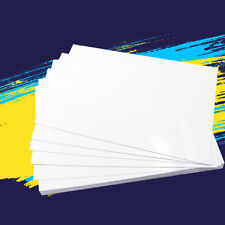 10 Pcs A4 Double Sided Inkjet Printer Coated Photo Paper Printing Office Sheet