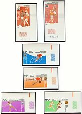 Congo Olympische Spiele Olympic Games 1976 Imperforated set MNH