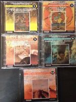 One Lot of (5) Obras Representativas Danzas Y Ballets CDs (CDs 1, 3, 5, 6, 12)