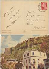 POSTA MILITARE N°12 SU CARTOLINA DA ARGIROCASTRO (ALBANIA) 1941