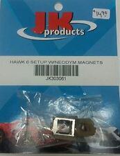 1/24 Scale Slot Car JK Products JK Hawk 6 Setup W/Neodym Magnets JK303061