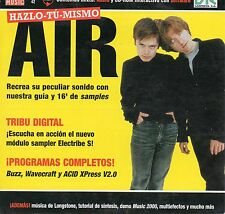 AIR - FUTURE MUSIC SPANISH PROMOTIONAL CD-ROM / BENOIT DUNCKEL - NICOLAS GODIN