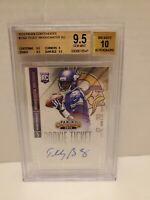 2014🔥Teddy Bridgewater🔥Panini Contenders Rookie Ticket Auto BGS Gem Mint 9.5