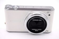 Samsung WB Series WB350F 16.3 MP Digital Camera - White