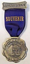 1914 BPOE MONESSEN PA. Elks Dedication of New Home medal badge +