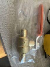 3 34 Pex Crimp Style Shut Off Brass Ball Valves For Pex Tubing Full Port