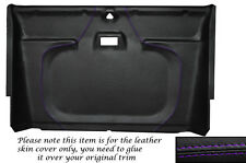 PURPLE STITCH FRONT ROOF LINING HEADLINING COVER FITS LAND ROVER DEFENDER 90 110