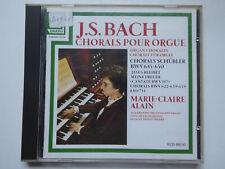 MARIE CLAIRE ALAIN <>  Schwenkedel Saint Donat / Bach Chorals Orgue  <> VG+ (CD)