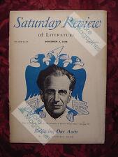 Saturday Review November 6 1948 EDGAR ANSEL MOWRER +++