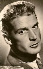 CARTE POSTALE PHOTO CELEBRITE ACTEUR GEORGES MARCHAL