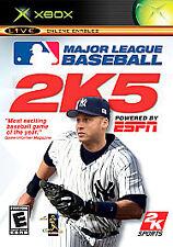 Major League Baseball 2K5 (Microsoft Xbox, 2005)