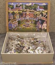 Jigsaw puzzle Americana School Carnival 1000 piece NEW Story Book
