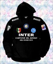 FELPA INTER CAMPIONE DEL MONDO MAGLIA T-SHIRT CALCIO triplete milano polo