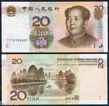 CHINA 20 YUAN 2005 Pick 905 SC  / UNC