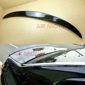 Flat Black SD Type Rear Window Roof Spoiler For 7-series BMW F01 Sedan 2012~2015