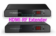 HDMI to RF Coaxial H.264 Extender Converter 1080P Fr DVD PS3 SDTV HDTV Projector